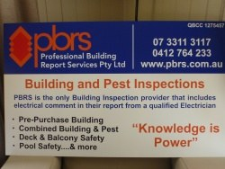 Building and Pest Inspections with Qualified Electrical Comment